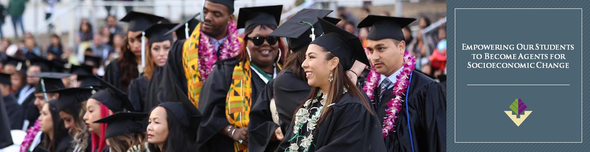 Banner - Graduate in Regalia